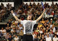 錦織圭、4年ぶりVならず 楽天ジャパンOP決勝、メドベージェフに完敗