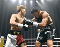 井上尚弥が1回KO勝ちで初防衛 WBAバンタム級タイトルマッチ