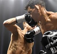 井上尚弥、日本選手世界戦最速の70秒KO 初防衛「最高」 WBAバンタム級タイトルマッ…