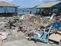 捜索活動終了へ 行方不明者5000人か インドネシア襲った地震・津波