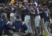 【MLB】米大リーグ ブルワーズ、優勝決定戦へ ドジャースはブレーブス戦