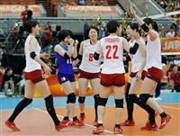 日本、プエルトリコに快勝 バレー女子世界選手権
