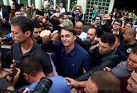 ブラジル大統領選、左右候補の決選投票に