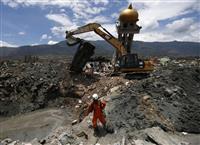 インドネシア地震、死者2千人に迫る 残る未捜索地域、なお増加の恐れ
