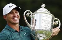 ケプカが最優秀選手 昨季メジャー3勝 米男子ゴルフ