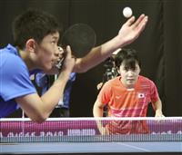 張本智和、平野美宇は目標に前進 ユース五輪の卓球