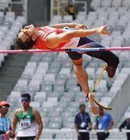 走り高跳びの鈴木徹が2位 アジアパラ大会第5日