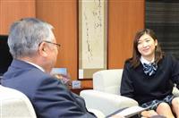 「目標のMVP嬉しかった」池江璃花子選手 地元・江戸川区長を訪問