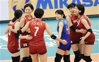 日本、3次リーグに進出 バレー女子世界選手権