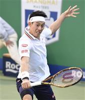 錦織圭、準々決勝に進出 マスターズ上海テニス