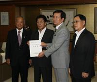 千葉県立高エアコン早期設置 自民県連、知事に要望書