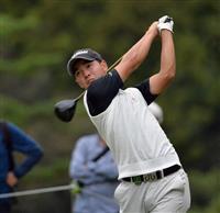 20歳のアマ桂川が首位 日本OPゴルフ第2日