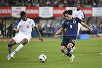 【サッカー日本代表】パナマ戦速報(3)日本が先制、南野が2戦連続ゴール