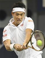 錦織圭、4強入りならず マスターズ上海テニス