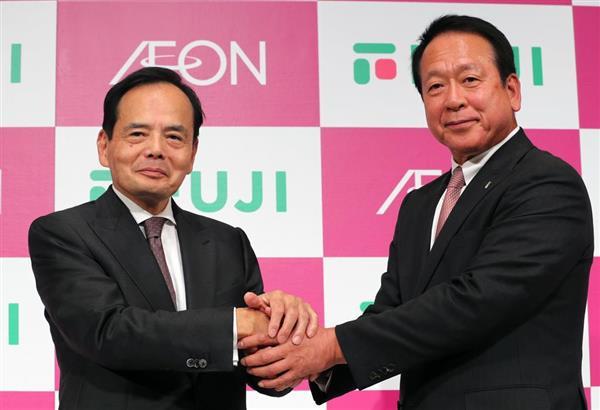 イオンが四国最大のスーパーチェーン、フジと資本業務提携