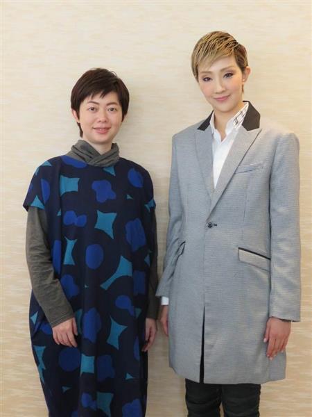 【宝塚歌劇団】星組トップの紅ゆずると演出家、小柳奈穂子氏、台…
