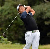 24歳の稲森佑貴が首位 日本OPゴルフ