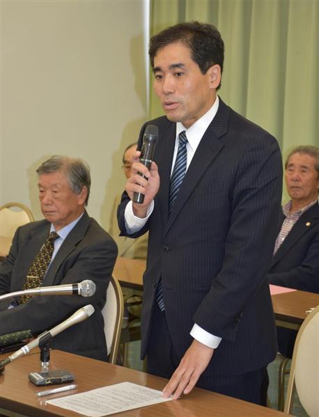 守山市長選、現職が公約「田園都市の進化へ」