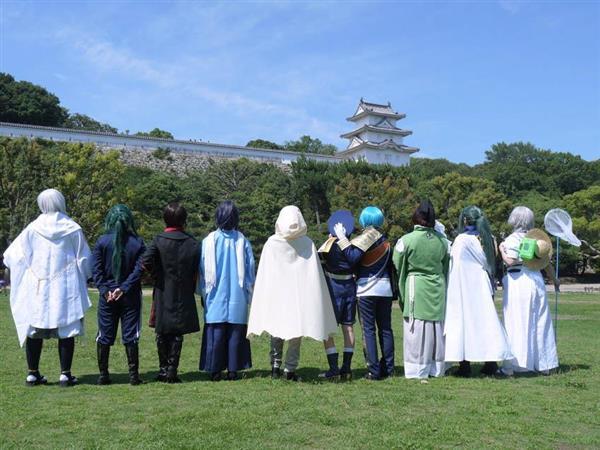 明石城で仮装大会 築城400年イベント