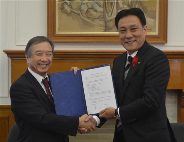 関学大、奈良御所市と協定 過疎地域活性化へ