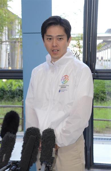 大阪万博誘致「手応えあった」大阪市長、パリから帰国