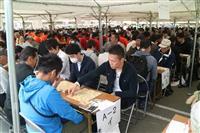 将棋同時対局数でギネス世界記録を達成 山形県天童市