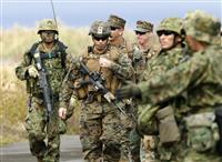 島嶼奪還で日米共同訓練 陸自と海兵隊、連携強化