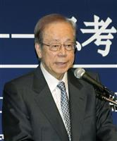 福田康夫元首相、日中首脳会談で国際秩序発展の具体策に期待感