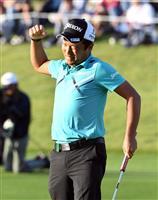 稲森佑貴、ゴルフ賞金ランク2位に急浮上 松山英樹のように「海外で活躍できる選手に」