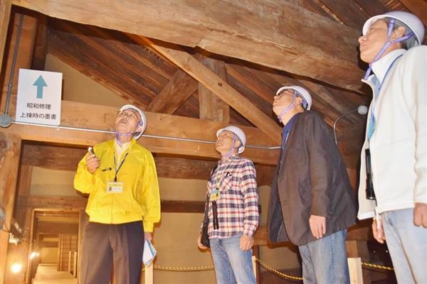 国宝奈良元興寺で屋根裏探検