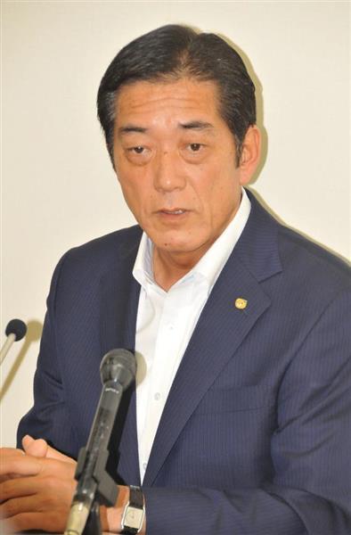 愛媛県知事選 現職中村時広氏が出馬表明