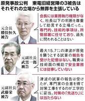 津波対策先送り、東電元会長ら何語る? 公判大詰め