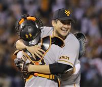 巨人・菅野「すごいことしたんだな」 ポストシーズン初の無安打無得点試合