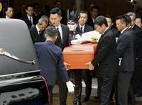 輪島さんに最後の別れ 告別式に八角理事長ら参列