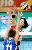 日本、イタリア相手に収穫の粘り バレー女子世界選手権