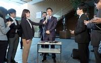 安倍晋三首相の欧州歴訪出発前の発言全文 「北朝鮮問題と貿易について緊密に連携したい」