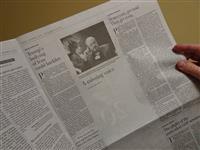 カショギ氏のコラムを白紙で発行 米紙