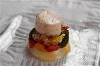 【料理と酒】鶏ハムのギリシャ風野菜添え フレッシュトマトのソース