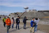 第二海堡上陸ツアーに120人参加