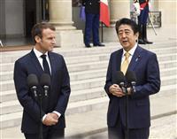安倍首相、仏大統領と会談 海洋安保を強化で一致