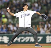 浦和・阿部勇樹ノーバウンド始球式 10年前のリベンジ