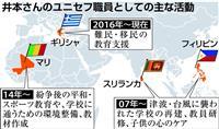 「東京五輪」きっかけに世界平和願う 元五輪スイマーでユニセフ教育専門官の井本直歩子さん