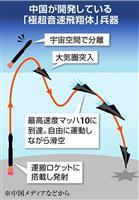 中国、最新の戦略兵器を誇示 「極超音速」飛翔体やステルス爆撃機 対中圧力の米を牽制