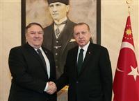 記者不明事件で総領事公邸捜索 米国務長官、トルコ大統領と協議