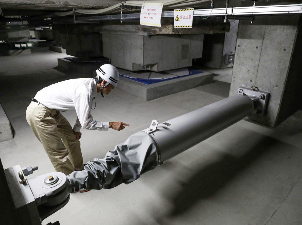 免震装置不正8人関与 KYB装置採用各所が調査