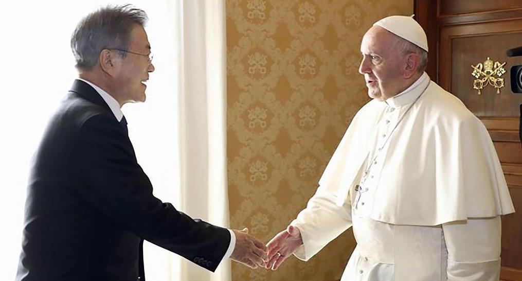 北朝鮮のローマ法王招請、金日成...