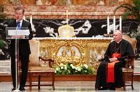 ローマ法王 南北和平に意欲示す 進むアジア共産圏への接近