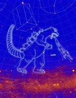 ゴジラ、星座に認定 NASA参加の研究チーム