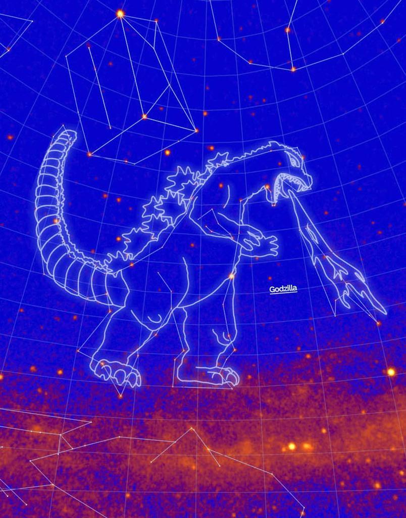 ゴジラ、星座に認定 NASA参加の研究チーム - 産経ニュース