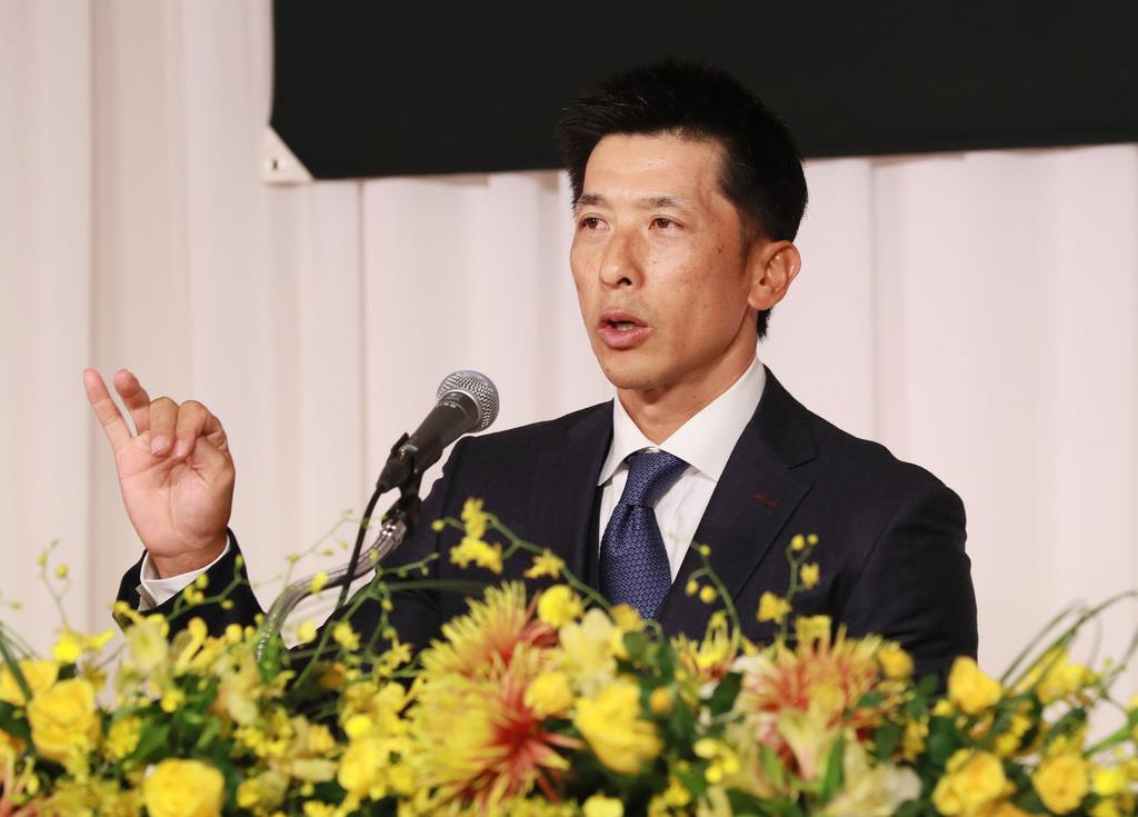 阪神・矢野燿大新監督が会見「体からあふれ出るもの、伝えられれ…